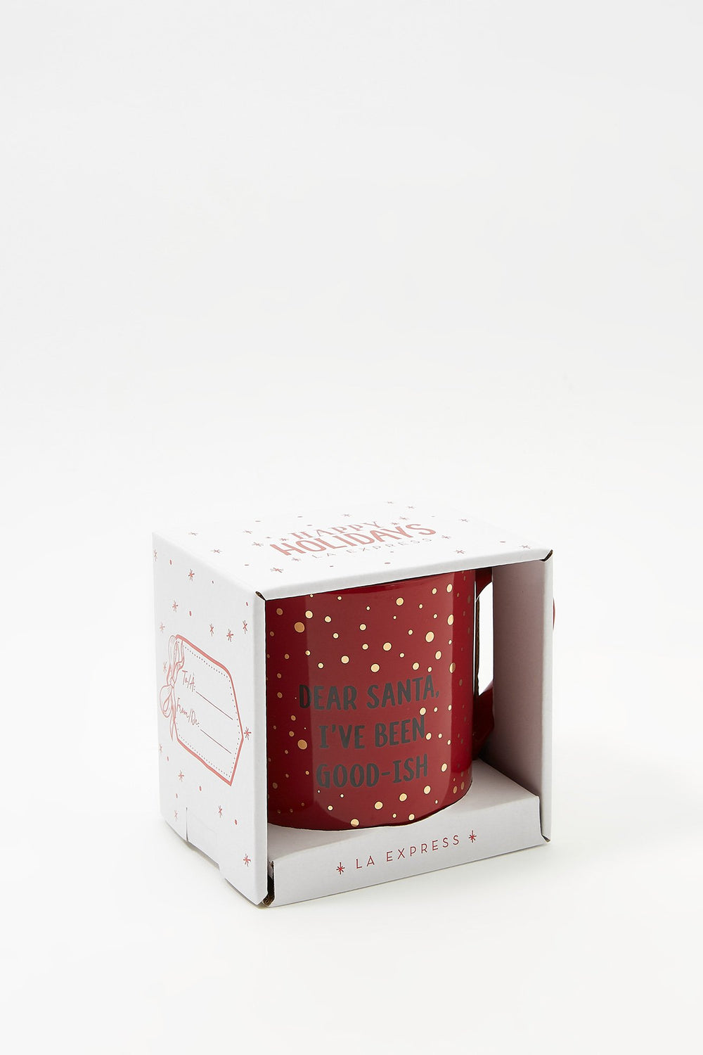 Christmas Boxed Mug Gift Red