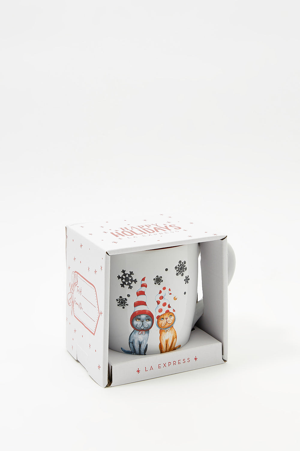 Christmas Mug Boxed Gift Red