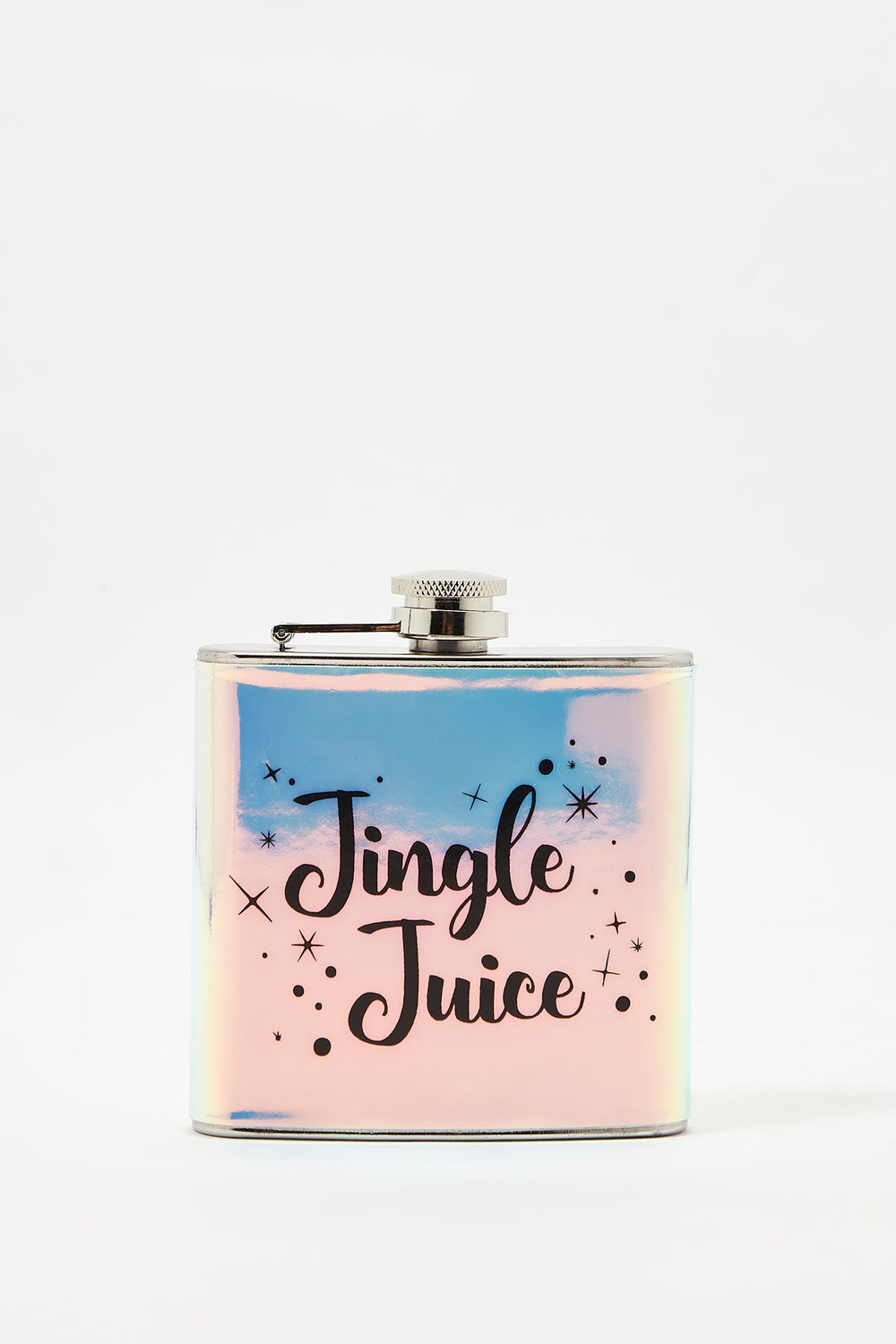Christmas Graphic Flask Multi