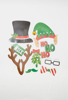 Christmas Photo Booth Accessories (20 PC)