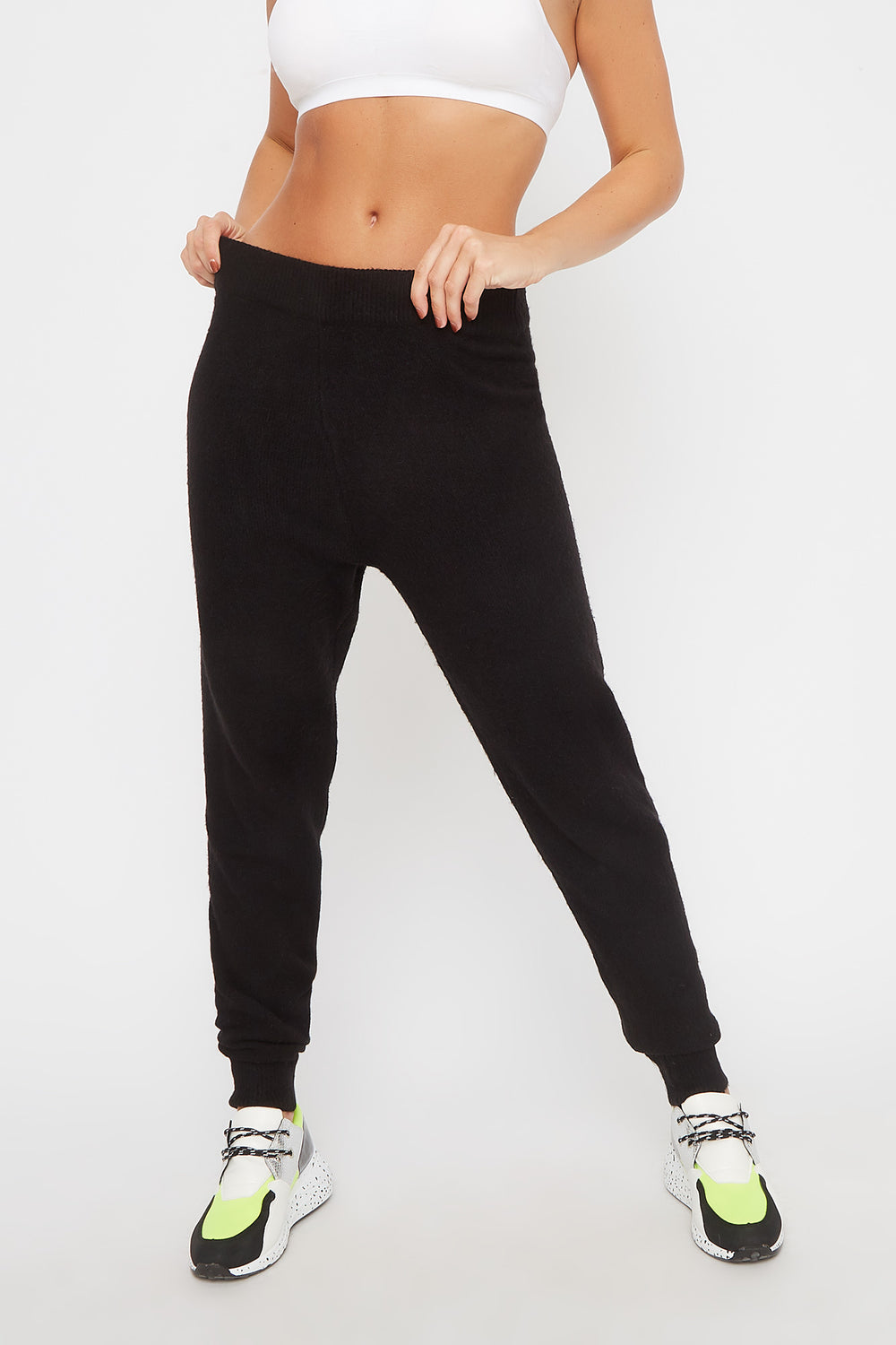 Mossy Pull-On Jogger Black