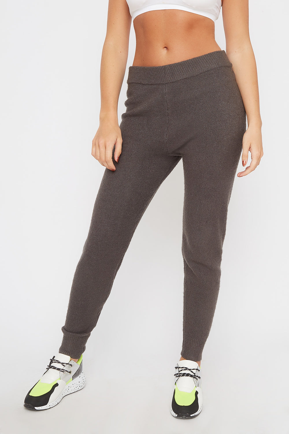 Mossy Pull-On Jogger Charcoal