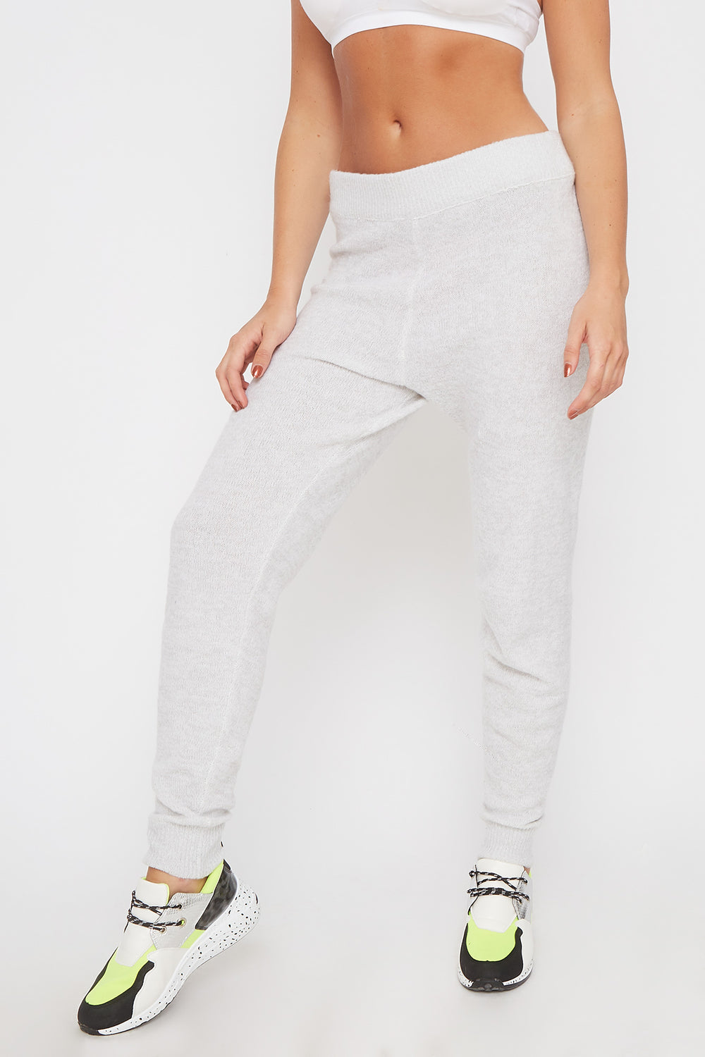 Mossy Pull-On Jogger Heather Grey