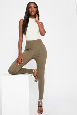 Pull-On High-Rise Leggings