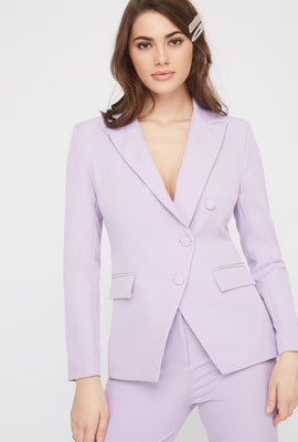 3-Button Single Breasted Blazer