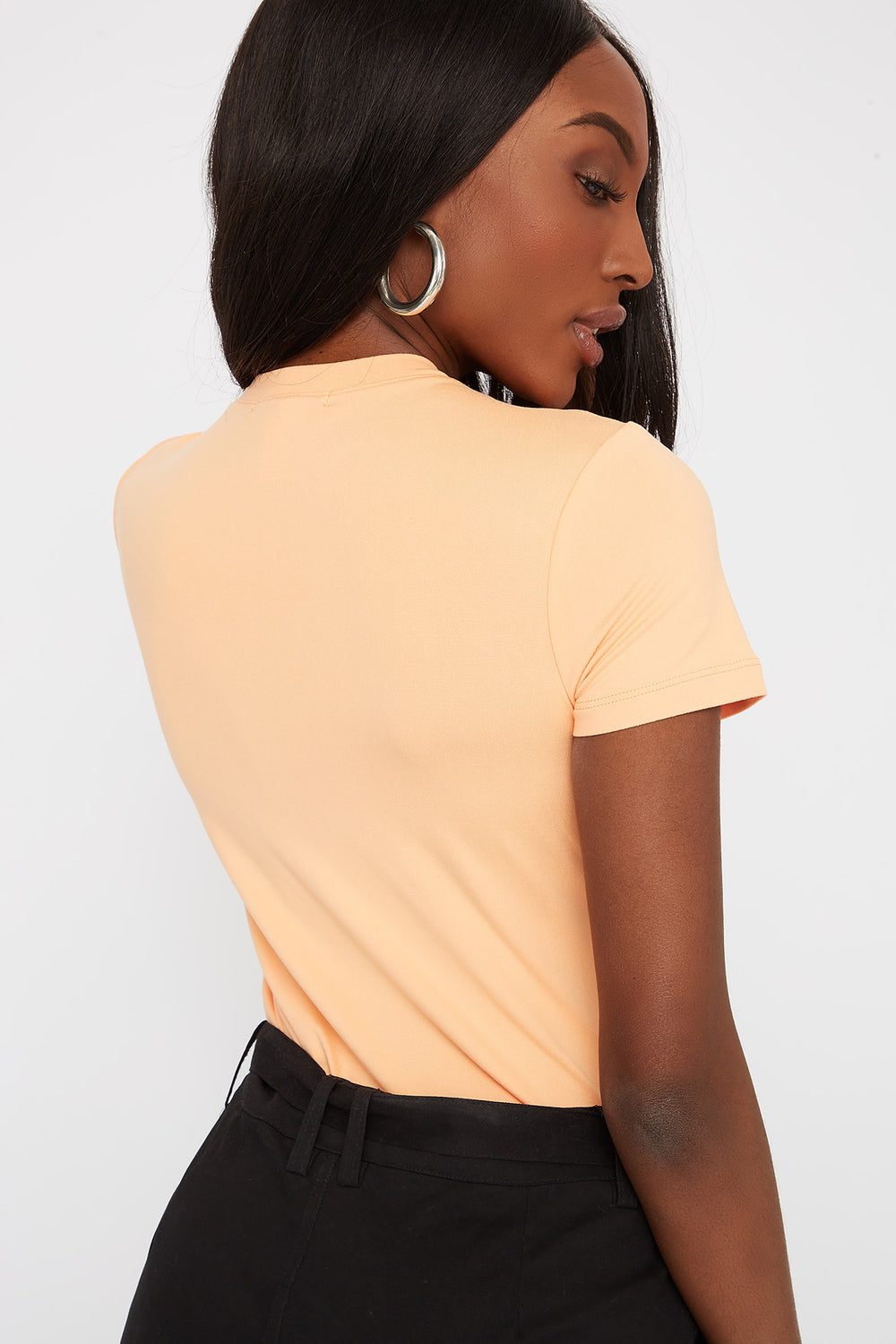 Soft T-Shirt Bodysuit Orange
