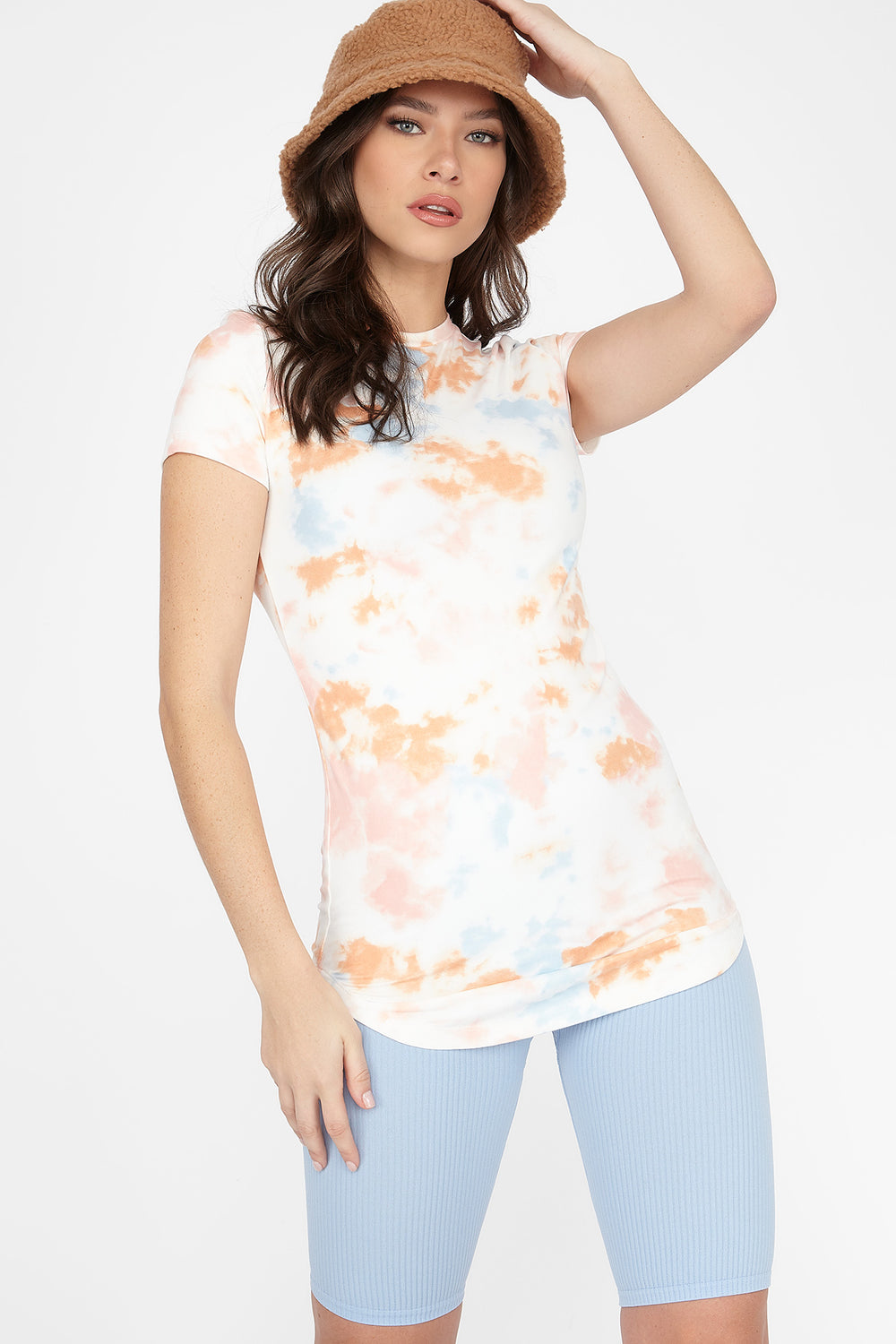 Tie Dye Crew Neck T-Shirt Multi