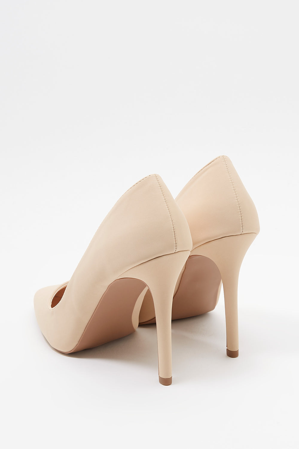 Pointed Basic Heel Pump Natural