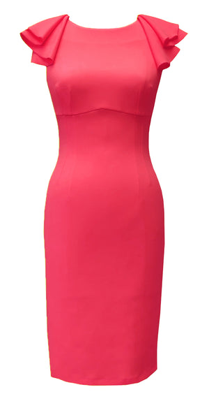 Paloma Dress DRC267 Sunset Pink