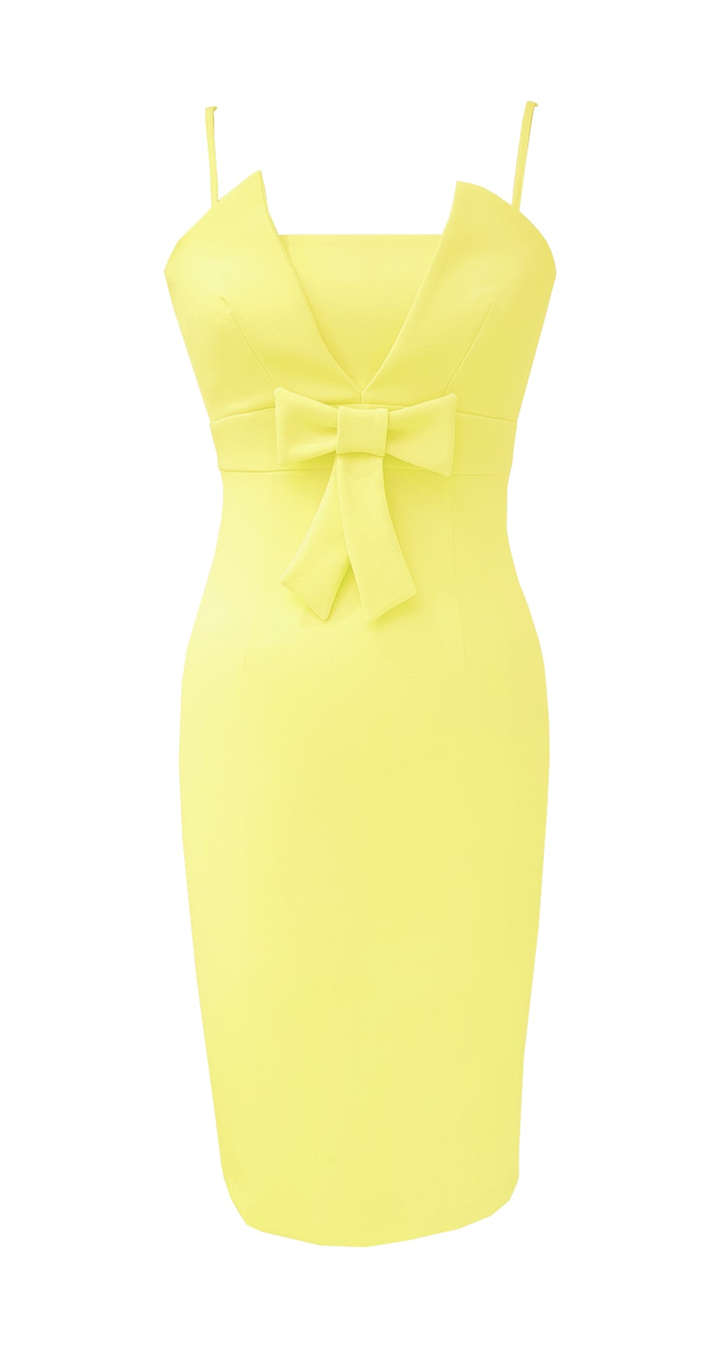 Alyssa Dress DRC242 Yellow