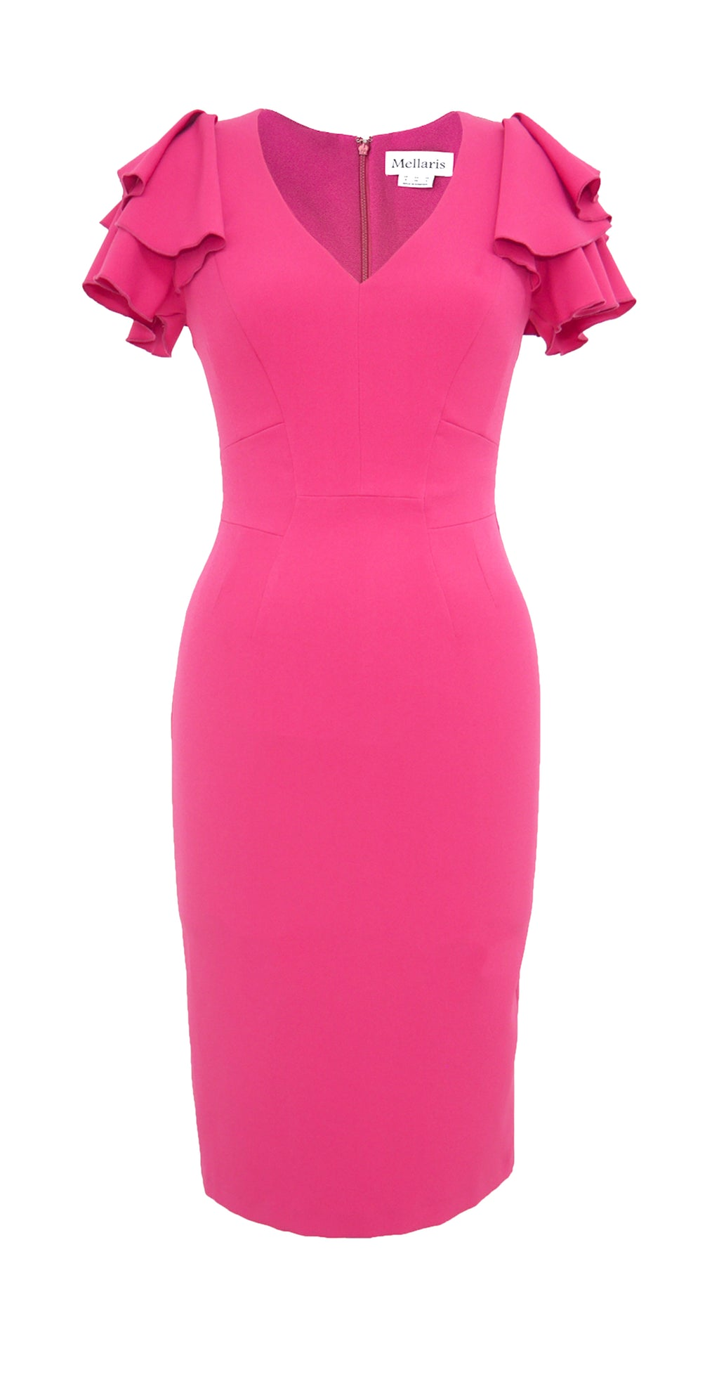 Bella Dress DRC243 Bright Pink