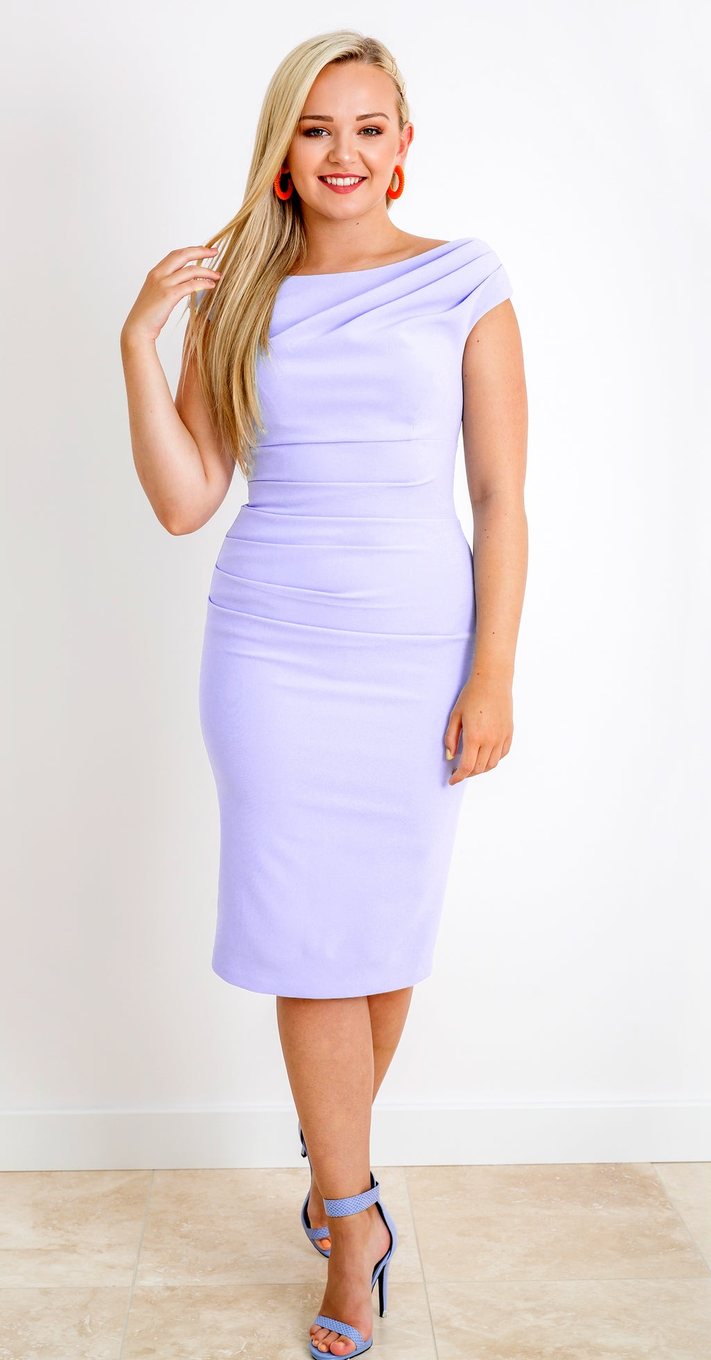 Brigitte Dress DRC319 Heather