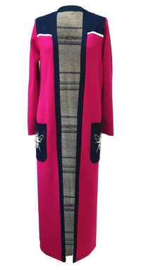 Ivybee Long Knitted Cardigan COAT(K)349