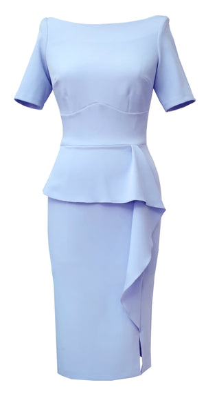 Jayne Dress DRC300 Sky Blue