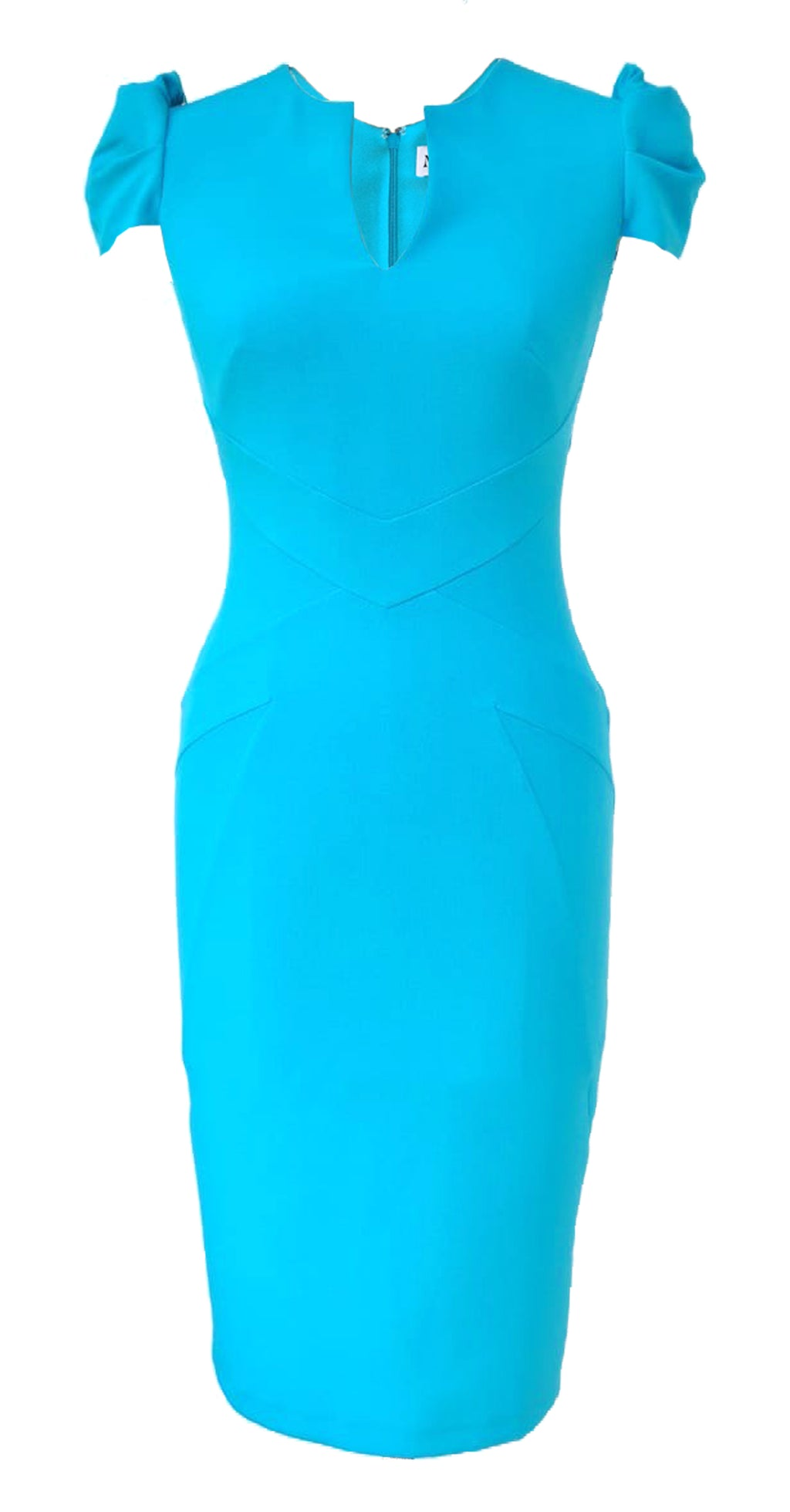 Cosmo Dress DRC352 Lagoona Blue Crepe