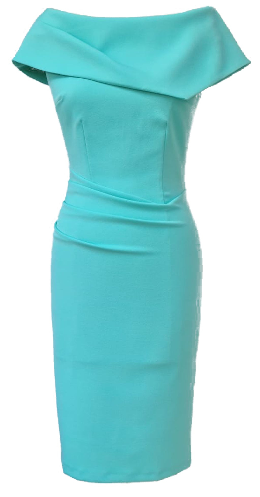 Olympia Dress DRC233 Mint Crepe