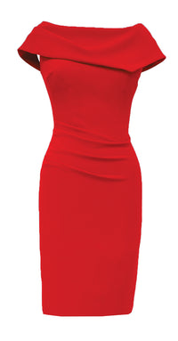 Olympia Dress DRC233 Red