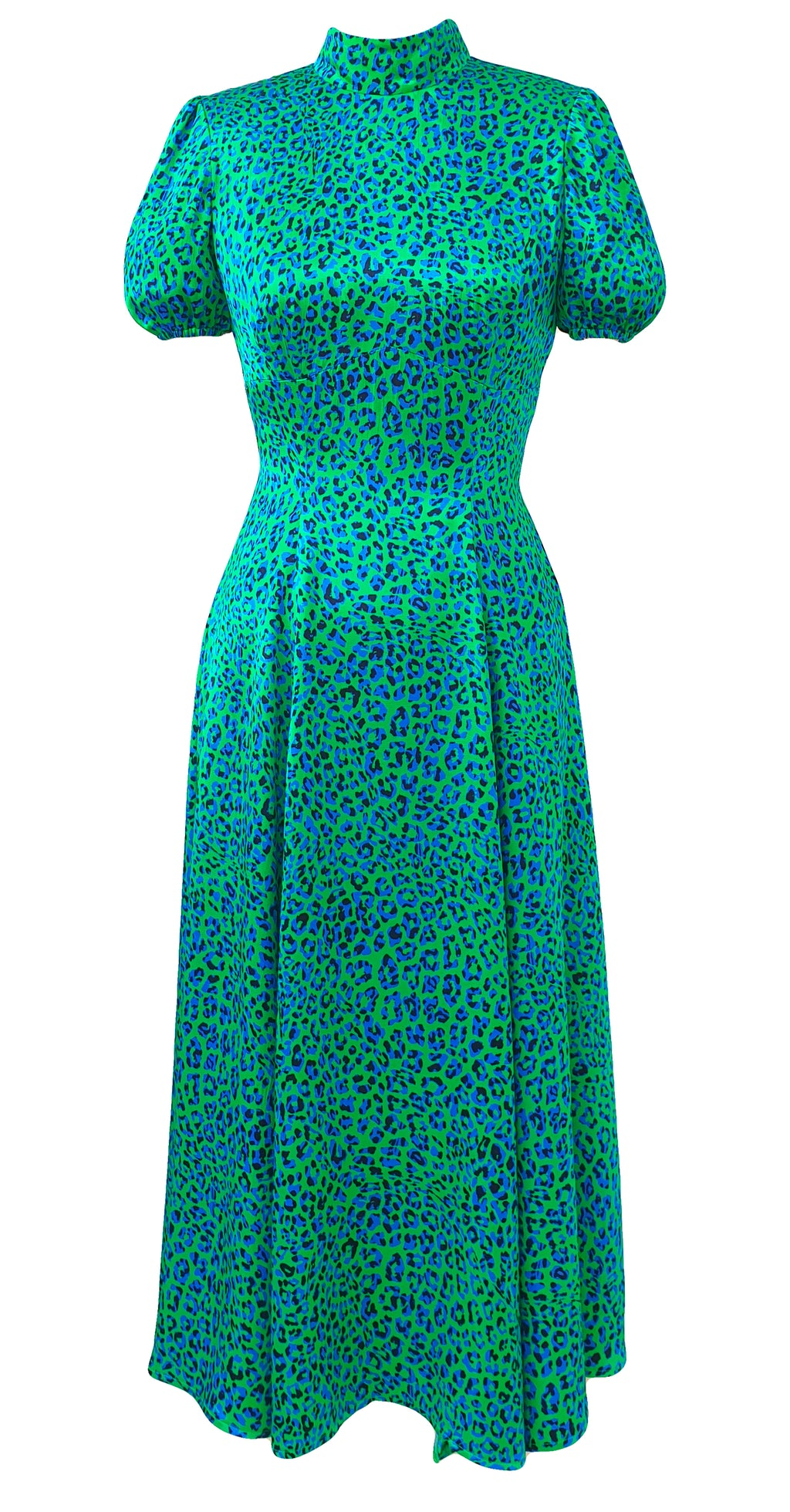 Slow Dance Dress DRC332 Funky Leopard Print