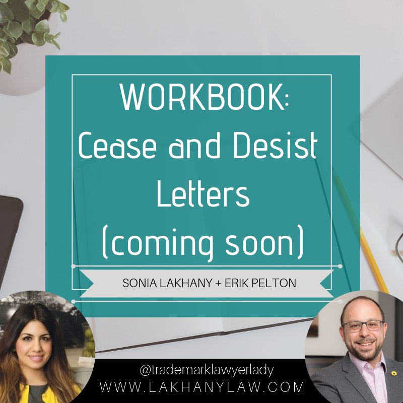 Workbook: Cease and Desist Letters