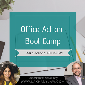 Office Action Boot Camp (Class + Workbook)