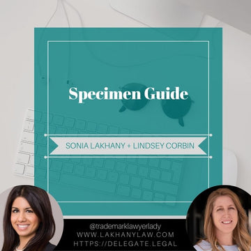 Specimen Guide (Editable Word Version)