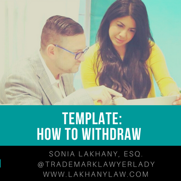 Template: How to withdraw