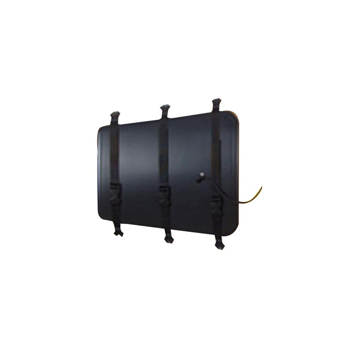 UMAT-154 Plastic cover, Large, rear(hatch cover, sealing foam and hardware)