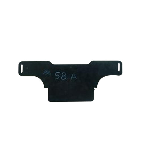 backplate, low-cut,#58A