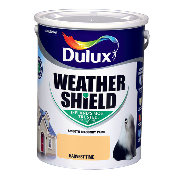 Dulux Weathershield Harvest time 5L - Nioclas O Conchubhair