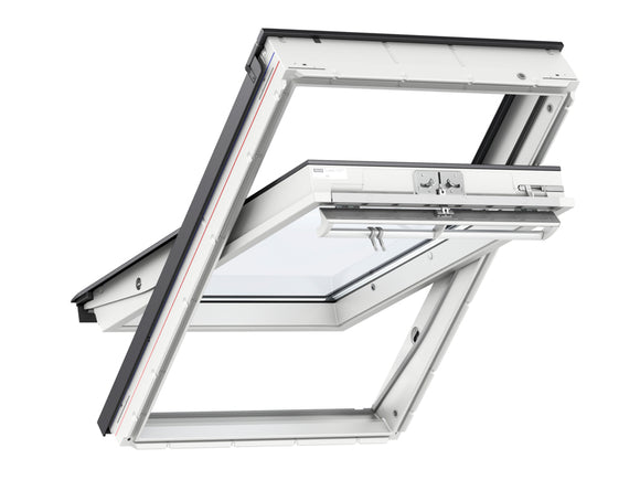 Velux White PU Centre Pivot Roof Window - 78X118CM - Nioclas O Conchubhair