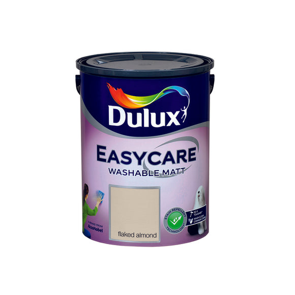Dulux Easycare Flaked Almond5L - Nioclas O Conchubhair