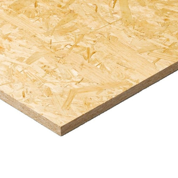 OSB 3 Board 8' X 2' X 18mm T&G  2440mm X 590mm Smart ply