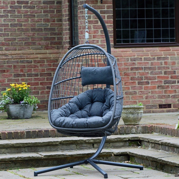 Foldable Hanging Egg Chair | 19888 - Nioclas O Conchubhair