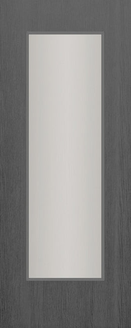 Seadec Grey Range Grey Napoli 1 Panel Shaker Frosted - Nioclas O Conchubhair