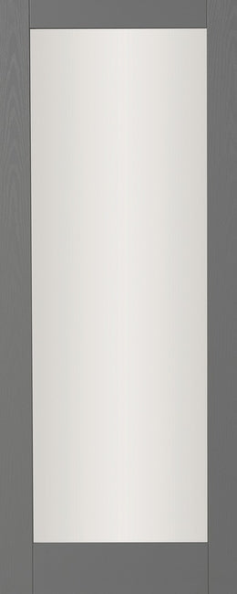 Seadec Grey Range Grey Torino 1 Panel Shaker Frosted - Nioclas O Conchubhair