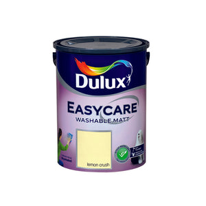 Dulux Easycare Lemon Crush 5L - Nioclas O Conchubhair