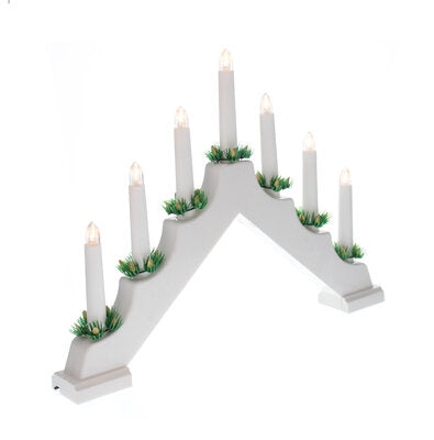 Candle Bridge White Electric