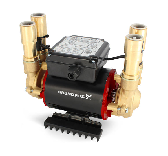 Grundfos Shower Pump Stp-3.0 B 3.0 Bar Positive Twin - Nioclas O Conchubhair