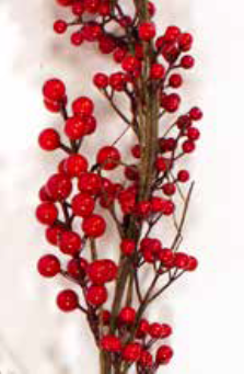 Red Berry Christmas Garland | 15643