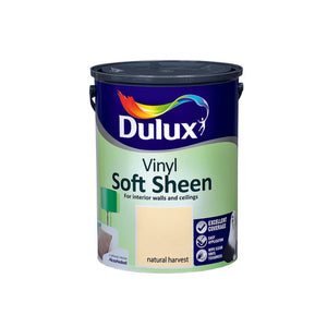 Dulux Vinyl Soft Sheen Natural Harvest 5L - Nioclas O Conchubhair