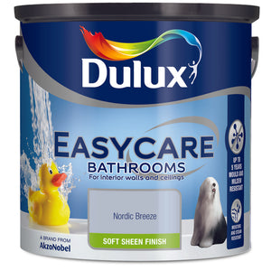 Dulux Easycare Bathrooms Nordic Breeze 5L - Nioclas O Conchubhair