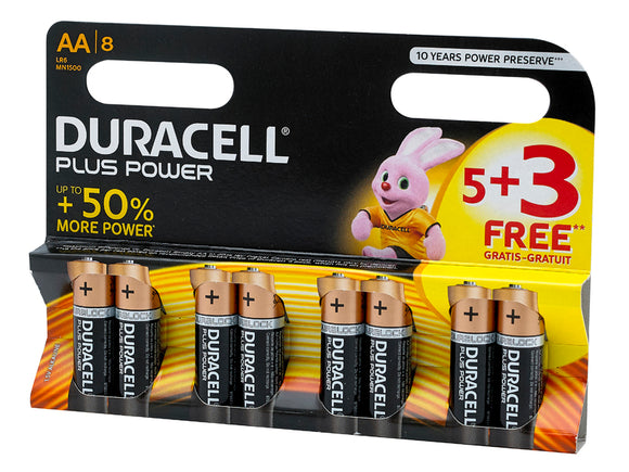 Duracell 5 + 3 AA Battery Pack - Nioclas O Conchubhair