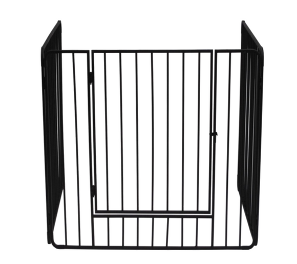 Stove Guard With Bars & Swing Door - Nioclas O Conchubhair