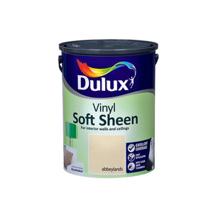 Dulux Vinyl Soft Sheen Abbeylands  5L - Nioclas O Conchubhair
