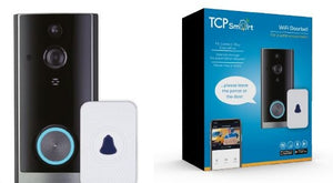 TCP Smart WIFI Video Doorbell - Nioclas O Conchubhair