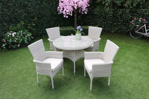 Alicante 4 Seater Round Set | MXA-703