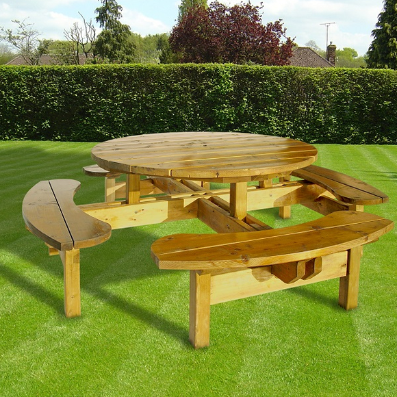 Round Picnic Bench | RDPT