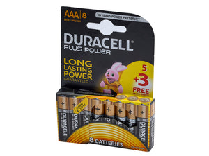 Duracell 5 + 3 AAA Battery Pack - Nioclas O Conchubhair