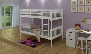 Alex White Bunk Bed - Nioclas O Conchubhair