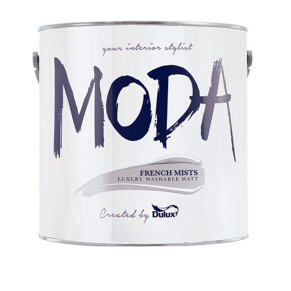 Dulux Moda French Mists 2.5L - Nioclas O Conchubhair
